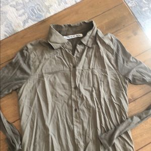 Michael Stars Blouse Olive Green